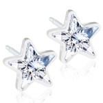 Blomdahl Örhängen Star Crystal 8 mm