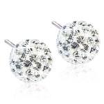 Blomdahl Örhängen Crystal Ball 6 mm