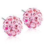 Blomdahl Örhängen Crystal Ball 8 mm