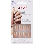 Kiss Gel Fantasy Nails Fanciful 24 st