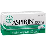 Aspirin tablett 500 mg 50 st