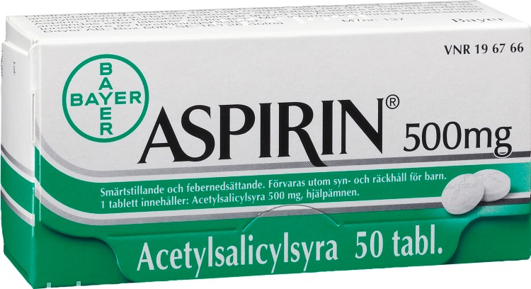 aspirin apoteket hjärtat
