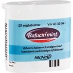 Bafucint Mint sugtablett 25 st