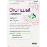 Bronwel sugtablett 20 st