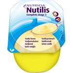 Nutilis Complete stage 2 Amylasresistent, krämig, för patienter med  dysfagi (sväljsvårigheter) vanilj 4x125gram