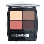 Isadora Eye Shadow Quartet Peach Avenue 5 g