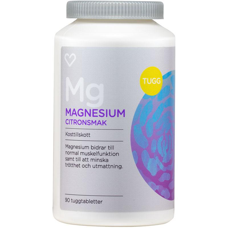 magnesium recip tuggtablett