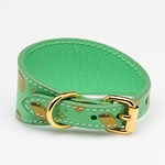 Collar of Sweden Taco Leather Collar Small Wide hundhalsband