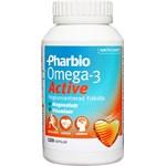 Pharbio Omega-3 Active kapsel 120 st