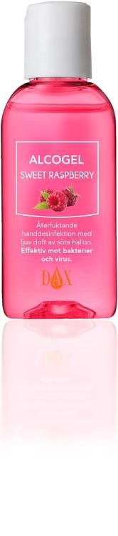DAX Alcogel Sweet Raspberry 50 ml - Apotek Hjärtat