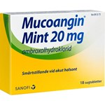 Mucoangin Mint sugtablett 20 mg 18 st