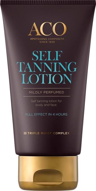 aco self tanning face