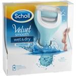 Scholl Velvet Smooth Wet & Dry elektrisk fotfil 1 st