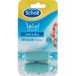 Scholl Velvet Smooth Wet & Dry Refill 2 st