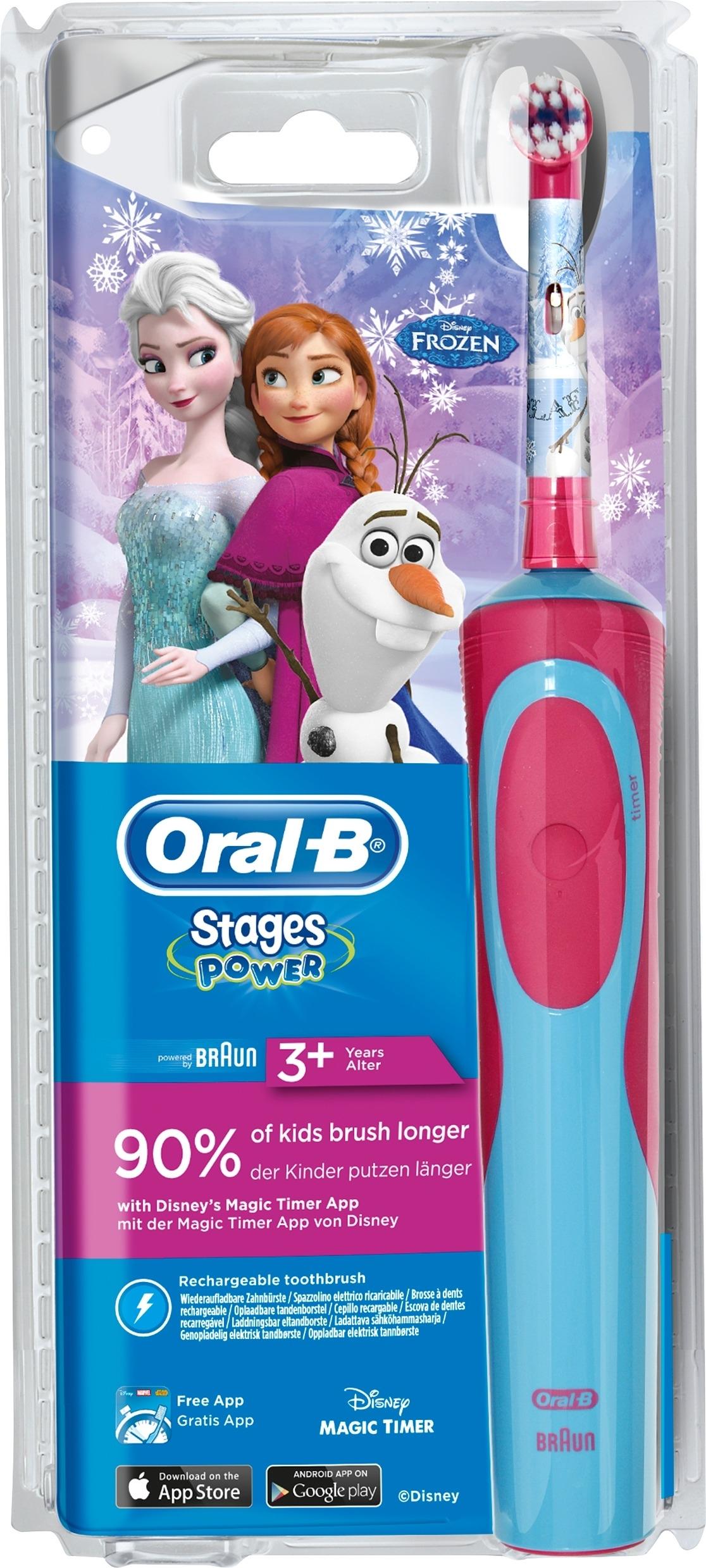 Oral-B Stages Power Frozen Eltandborste 3 år+ - Apotek Hjärtat 4954eaa0dec8c