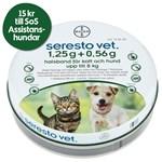 Seresto vet. halsband för katt och hund upp till 8 kg 1,25g+0,56g 1st