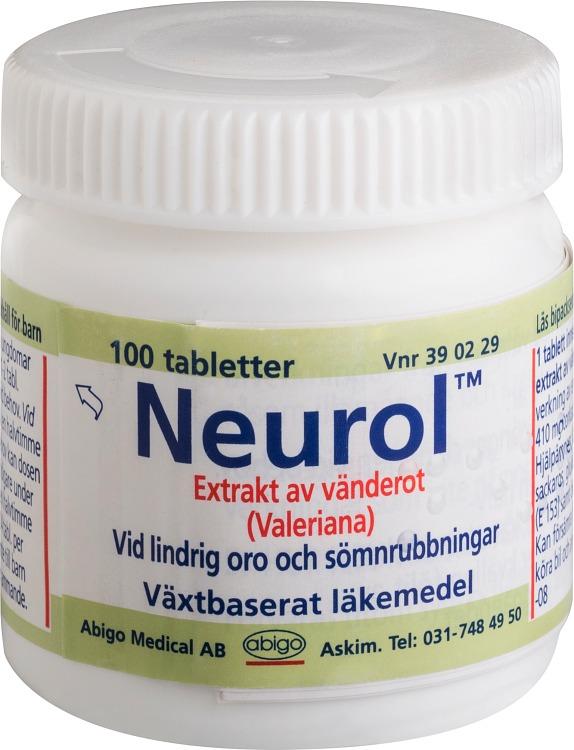 lugnande medicin vid stress