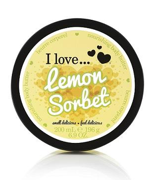 I Love... Lemon Sorbet Body Butter 200 ml