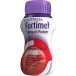 Fortimel Compact Protein kompakt, proteinrikt, mjölkbaserat röda bär 4x125milliliter