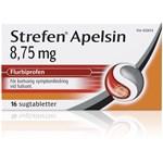 Strefen Apelsin sugtablett 8,75 mg 16 st