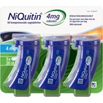 NiQuitin Komprimerad sugtablett 4mg Plastburk, 60(3x20) sugtabletter
