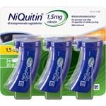 NiQuitin Komprimerad sugtablett 1,5mg Plastburk, 60(3x20) sugtabletter