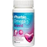 Pharbio Omega-3 Gravid kapsel 60 st