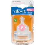 Dr Brown's Options Dinapp Bred Hals prematur, 0 mån+ 2-pack
