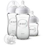 Philips Avent Nappflaska Natural Glas Startset för Nyfödd