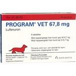 Program vet. filmdragerad tablett för hund 67,8 mg 6 st