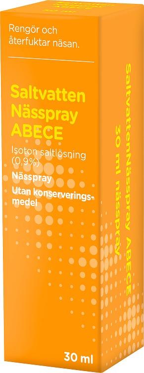 ABECE Saltvattenspray 30 ml
