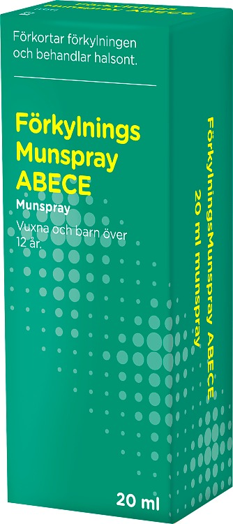 ABECE Förkylningsmunspray 20 ml