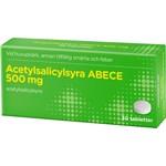 Acetylsalicylsyra ABECE 500 mg 30 tabletter