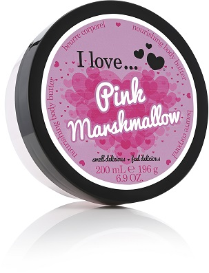 I Love... Pink Marshmallow Body Butter 200 ml