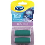 Scholl Elektrisk Velvet Smooth Gentle Coarse 2-pack