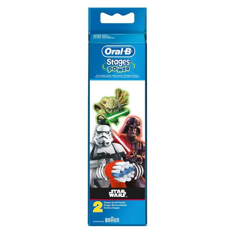 Oral-B Stages Power Star Wars Borsthuvud Refill 2-pack - Apotek Hjärtat db43fbd704a03