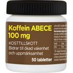ABECE Koffein 100 mg tablett 50 st