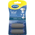 Scholl Velvet Smooth Extra Coarse Refill 2-pack