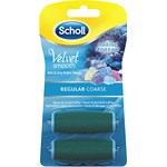 Scholl Velvet Smooth Regular Coarse Refill 2-pack
