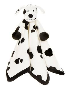 Teddykompaniet Diinglisar LE, Dalmatin Snuttefilt 35 x 35 cm