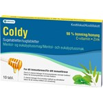 Coldy Mentol/Eukalyptus sugtabletter 10 st