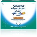 NiQuitin Mentolmint medicinskt tuggummi 4 mg 200 st