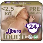 Libero Touch Premature blöja 24 st