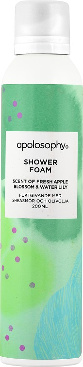 Apolosophy Fresh Apple Blossom & Water Lily Shower Foam 200 ml