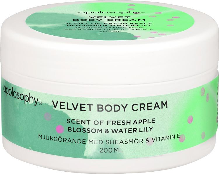 Apolosophy Fresh Apple Blossom & Water Lily Velvet Body Cream 200 ml
