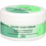 Apolosophy Fresh Apple Blossom & Water Lily Velvet Body Cream 200 ml
