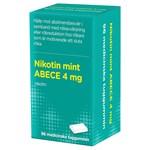 Nikotin mint ABECE Medicinskt tuggummi 4 mg