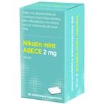 Nikotin mint ABECE Medicinskt tuggummi 2 mg