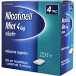 Nicotinell Mint medicinskt tuggummi 4 mg 204 st
