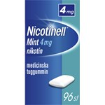 Nicotinell Mint medicinskt tuggummi 4 mg 96 st